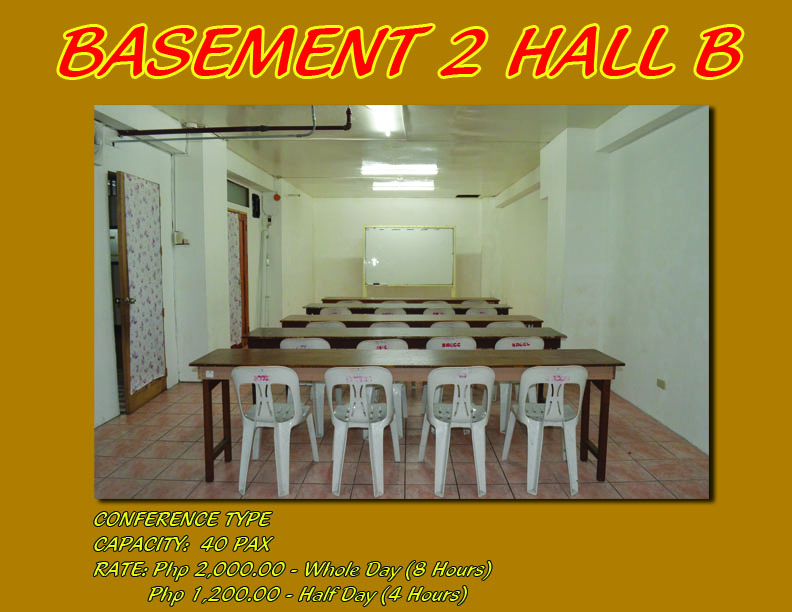 Basement 2 Hall B