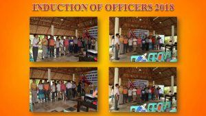 INDUCTION OF OFFICERS