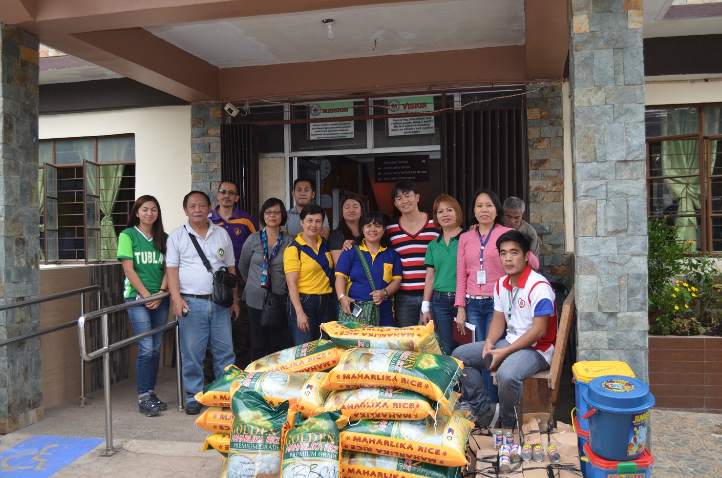 Relief Goods for Typhoon Victims