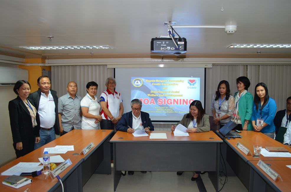 MOA Signing with DSWD